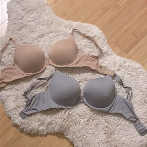 VS Padded Perfect Coverage Bras Size: 32DD